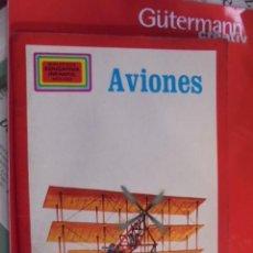 Libros de segunda mano: MOLINO 1981 - AVIONES - GORDON DAVIES - SIN USAR - ENVIO GRATIS - PRECIOSAS ILUSTRACIONES. Lote 98990571
