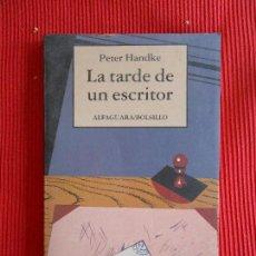 Libros de segunda mano: LA TARDE DE UN ESCRITOR-PETER HANDKE. Lote 180324797