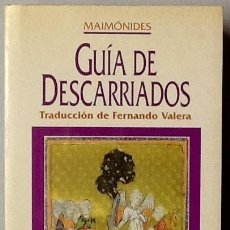 Libros de segunda mano: GUÍA DE DESCARRIADOS. MAIMÓNIDES. 1ª EDICIÓN OBELISCO. Lote 99088927