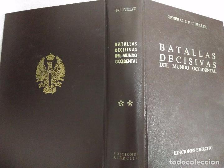 BATALLAS DECISIVAS DEL MUNDO OCCIDENTAL, TOMO II, EDICIONES EJERCITO, 1979 (Libros de Segunda Mano - Historia - Otros)