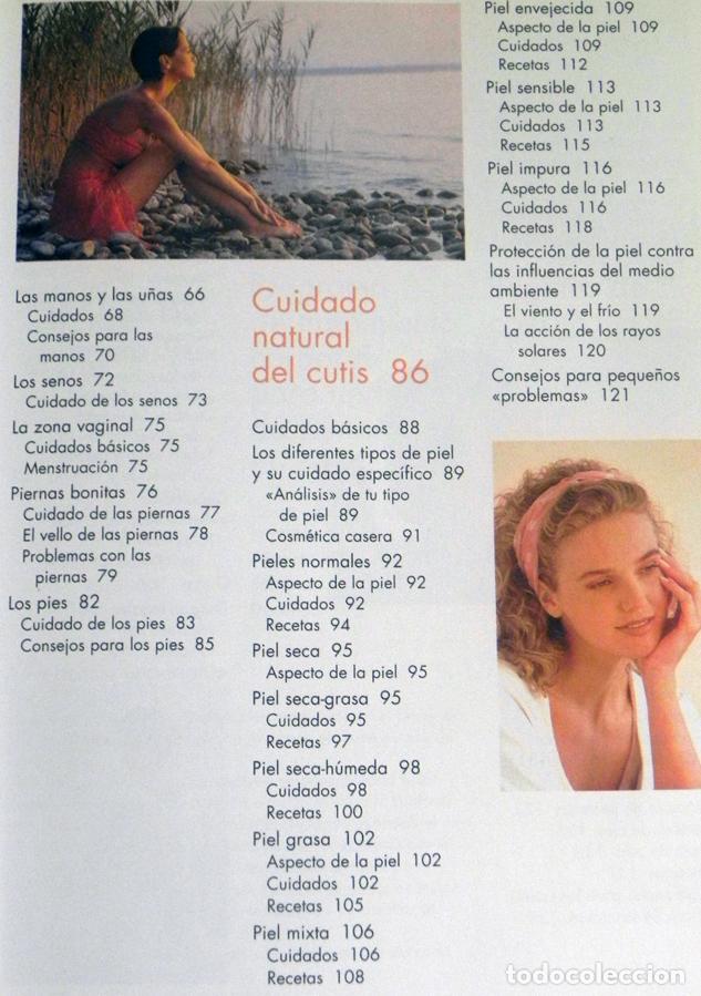 Libros de segunda mano: BELLEZA NATURAL LIBRO MARGOT HELLMISS - PELUQUERÍA VESTIDOS MAQUILLAJE GUÍA TRUCOS CUIDAR EL CUERPO - Foto 4 - 99186619