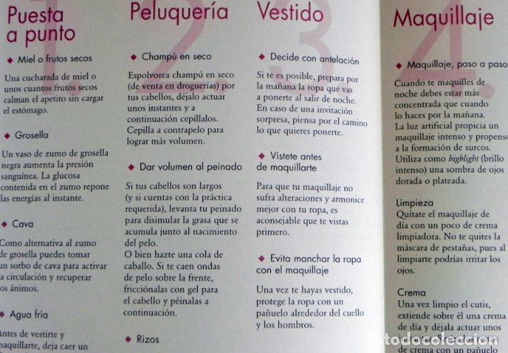 Libros de segunda mano: BELLEZA NATURAL LIBRO MARGOT HELLMISS - PELUQUERÍA VESTIDOS MAQUILLAJE GUÍA TRUCOS CUIDAR EL CUERPO - Foto 5 - 99186619