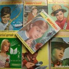 Libros de segunda mano: LOTE DE 7 LIBROS DE MARISOL. Lote 99211539
