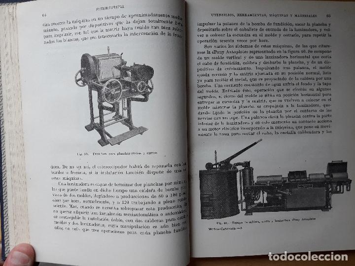 Libros de segunda mano: TRATADO DE ESTEREOTIPIA, GALVANOTIPIA Y METALOGRAFIA TIPOGRÁFICA - Foto 3 - 99215635
