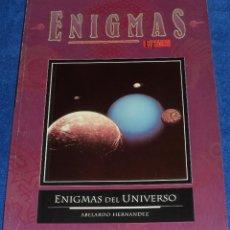 Libros de segunda mano: ENIGMAS DEL UNIVERSO - ENIGMAS - ESPACIO TIEMPO. Lote 99289615