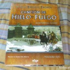 Libros de segunda mano: EL ARTE DE JUEGO DE TRONOS VOLUMEN 1. Lote 99317023
