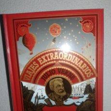 Libros de segunda mano: CINCO SEMANAS EN GLOBO VIAJES EXTRAORDINARIOS JULIO VERNE CLUB INTERNACIONAL DEL LIBRO. Lote 99332150