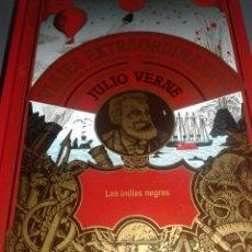 Libros de segunda mano: LAS INDIAS NEGRAS VIAJES EXTRAORDINARIOS JULIO VERNE. Lote 99337484