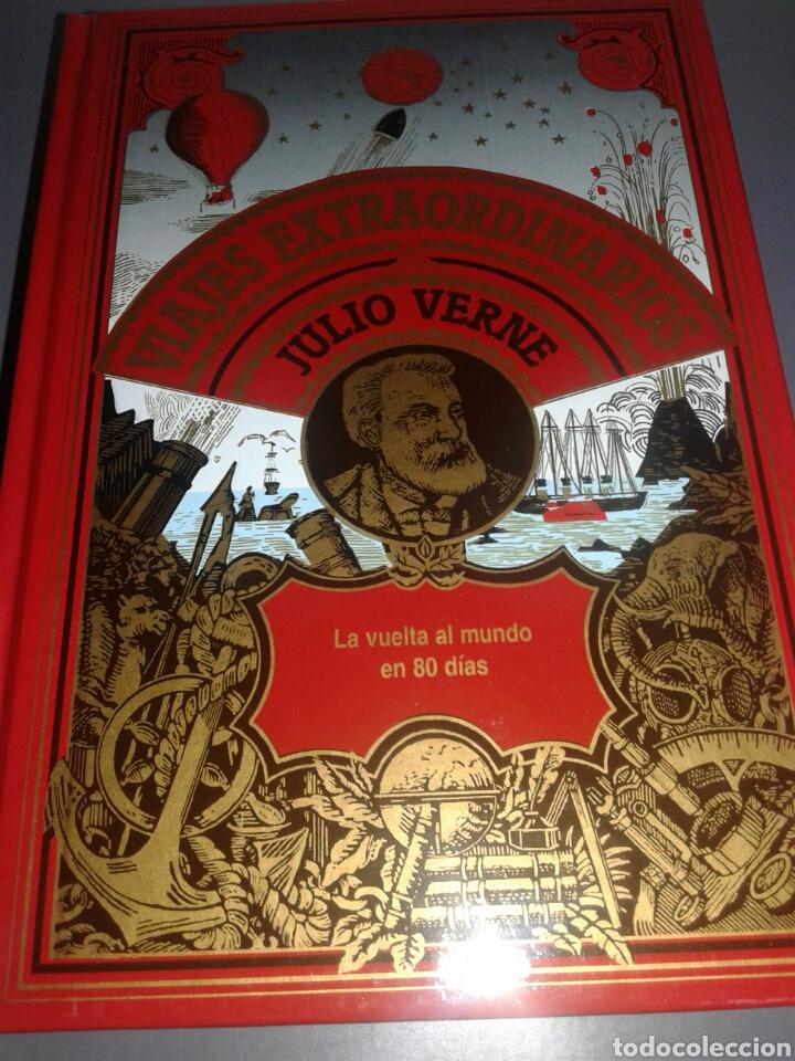 LA VUELTA AL MUNDO EN 80 DÍAS VIAJES EXTRAORDINARIOS JULIO VERNE (Libros de Segunda Mano - Literatura Infantil y Juvenil - Otros)