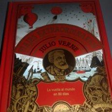 Libros de segunda mano: LA VUELTA AL MUNDO EN 80 DÍAS VIAJES EXTRAORDINARIOS JULIO VERNE. Lote 99337763
