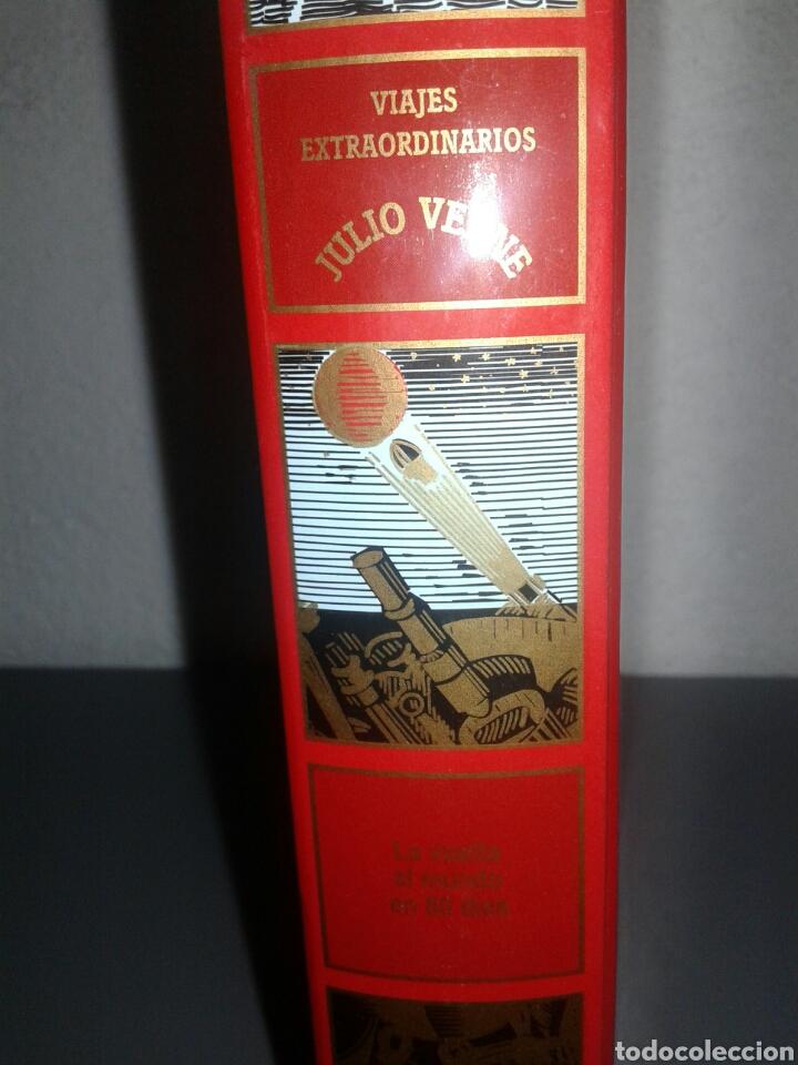 Libros de segunda mano: La vuelta al mundo en 80 días viajes extraordinarios Julio Verne - Foto 2 - 99337763