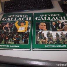 Gebrauchte Bücher - Dos tomos Apéndice Gallach 1.996. Instituto Gallach - 99422371