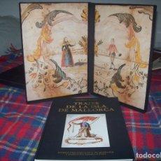 Libros de segunda mano: TRAJES DE LA ISLA DE MALLORCA. CRISTÓBAL VILELLA. LA ISLA DE LA CALMA. JOSÉ J. DE OLAÑETA. 1989.. Lote 99485299