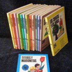 Libros de segunda mano: 100 IDEAS. 14 TOMOS. EDITORIAL VILAMALA, 1969-73. Lote 99549943