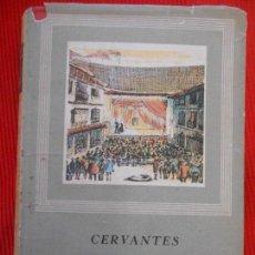 Libros de segunda mano: TEATRO CERVANTES COMPLETO-OBRAS MAESTRAS-II. Lote 235302710