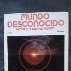 Libros de segunda mano: REVISTA MUNDO DESCONOCIDO Nº 30-DICIEMBRE 1978. Lote 99662303