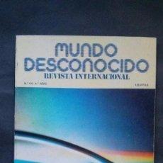 Libros de segunda mano: REVISTA MUNDO DESCONOCIDO Nº 44-FEBRERO 1980. Lote 99662367