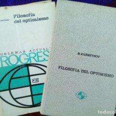 Livros em segunda mão: FILOSOFÍA DEL OPTIMISMO B.KUZNETSOV ED.PROGRESO,1978 MOSCÚ. Lote 99715835