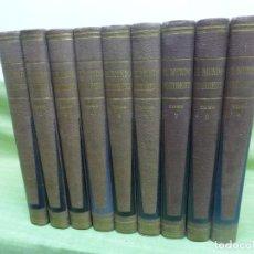 Libros de segunda mano: EL MUNDO PINTORESCO - 9 TOMOS. EDITORIAL EDICIONES SELECTAS BUENOS AIRES 1957 - ENCICLOPEDIA . Lote 99719391