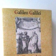 Libros de segunda mano: DIÁLOGO SOBRE LOS DOS MÁXIMOS SISTEMAS DEL MUNDO PTOLEMAICO Y COPERNICANO - GALILEO GALILEI. Lote 99742115
