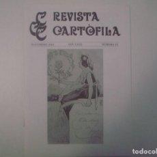 Libros de segunda mano: LIBRERIA GHOTICA. REVISTA CARTÒFILA. NOVEMBRE. 2001. NUM 18. FOLIO MENOR. MUY ILUSTRADO. POSTALES.. Lote 99749395