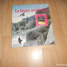Libros de segunda mano: LA FAUNA NOCTURNA 9 LLIBRETS EN UN GRAN LLIBRE - JEAN CHEVALLIER - EN CATALA. Lote 99822627
