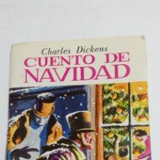 Libros de segunda mano: MINIBIBLIOTECA DE LA LITERATURA UNIVERSAL CUENTO NAVIDAD CHARLES DICKENS. PETETE 1982 EDELVIVES. Lote 99873858