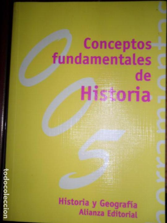 CONCEPTOS FUNDAMENTALES DE HISTORIA, ELENA SÁNCHEZ DE MADARIAGA, ED. ALIANZA (Libros de Segunda Mano - Historia - Otros)