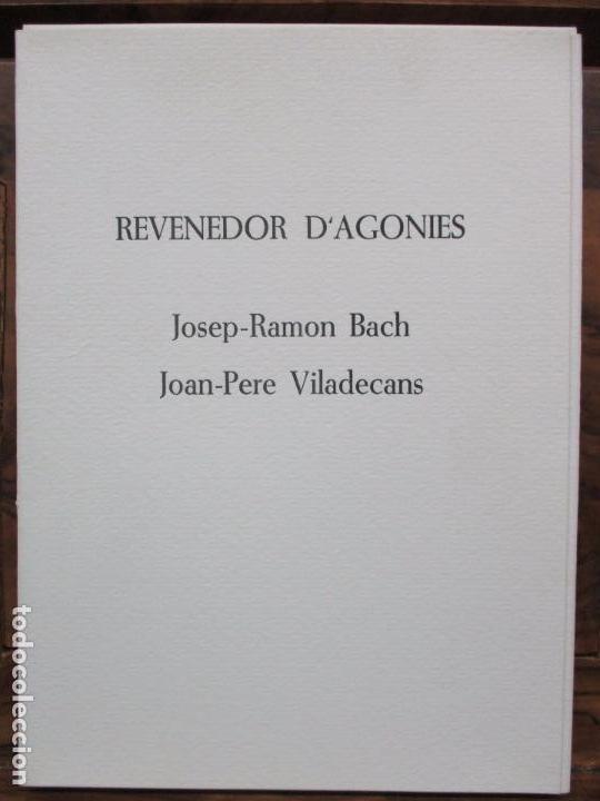 REVENEDOR D'AGONIES. BACH, JOSEP-RAMON I VILADECANS, JOAN-PERE. ILUSTR. GRAVATS. 1984. ED. NUMERADA. (Libros de Segunda Mano - Bellas artes, ocio y coleccionismo - Otros)