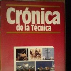 Libros de segunda mano: CRONICA DE LA TECNICA PLAZA Y JANES. Lote 100076539