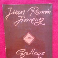 Libros de segunda mano: HOMENAJE A JOSE LUIS GALLEGO Y JUAN RAMON JIMENEZ 750 GRS 31 CMS 106 PGS . Lote 100130847