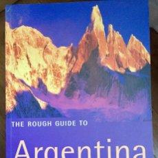 Libros de segunda mano: THE ROUGH GUIDE TO ARGENTINA (EN INGLÉS). Lote 100135707