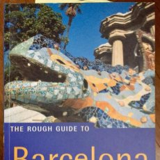 Libros de segunda mano: THE ROUGH GUIDE TO BARCELONA (EN INGLÉS). Lote 100135875