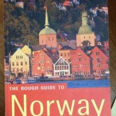 Libros de segunda mano: THE ROUGH GUIDE TO NORWAY (EN INGLÉS). Lote 100135939