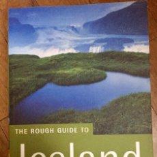 Libros de segunda mano: THE ROUGH GUIDE TO ICELAND (EN INGLÉS). Lote 100136051