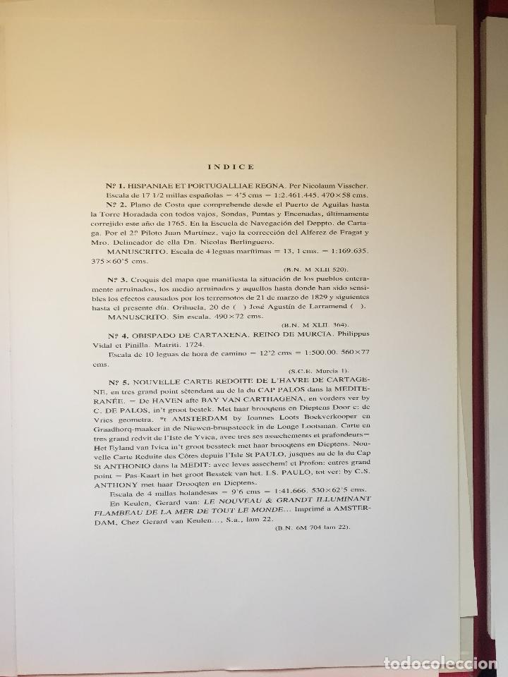 Libros de segunda mano: CARTOGRAFIA DE LA REGION DE MURCIA - Foto 9 - 99978311