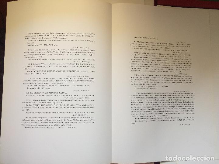 Libros de segunda mano: CARTOGRAFIA DE LA REGION DE MURCIA - Foto 10 - 99978311