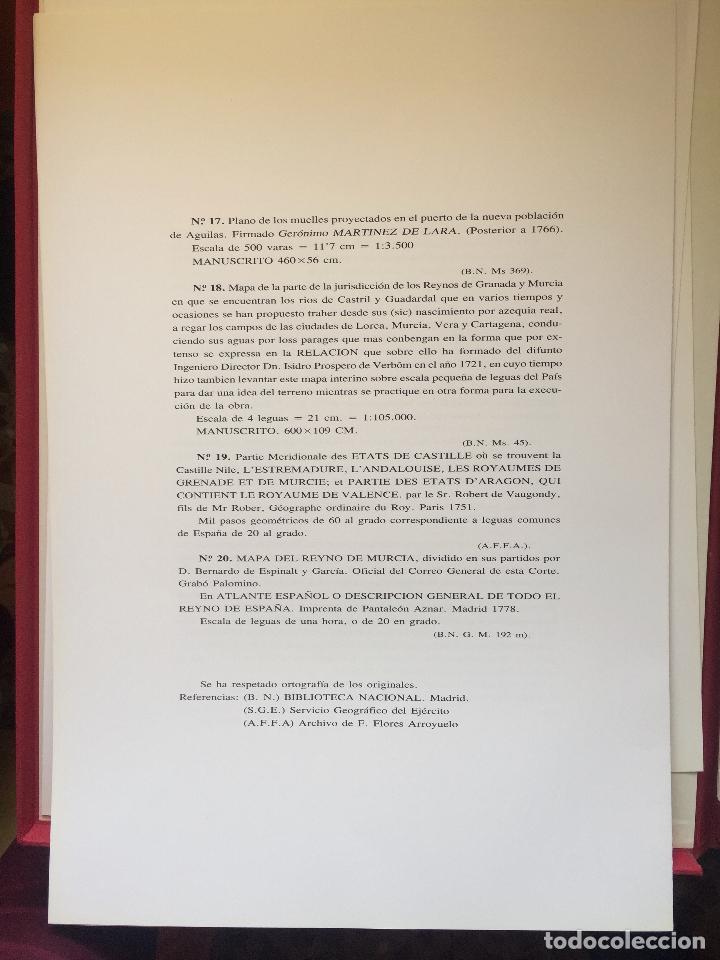 Libros de segunda mano: CARTOGRAFIA DE LA REGION DE MURCIA - Foto 11 - 99978311