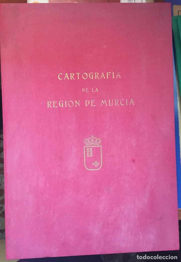 CARTOGRAFIA DE LA REGION DE MURCIA (Libros de Segunda Mano - Bellas artes, ocio y coleccionismo - Otros)