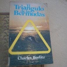 Libros de segunda mano: LIBRO EL TRIÁNGULO DE LAS BERMUDAS CHARLES BERLITZ 1974 ED. POMAIRE L-16248. Lote 100225247