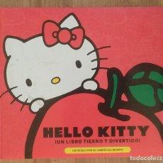 Libros de segunda mano: HELLO KITTY ¡ UN LIBRO TIERNO Y DIVERTIDO ! UN PASEO POR SU SIMPATICO MUNDO 128 PAGINAS MUY ESCASO . Lote 100323591