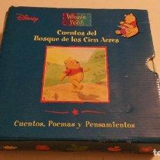 Libros de segunda mano: CUENTOS DEL BOSQUE DE LOS CIEN ACRES - WINNIE THE POOH - POEMAS PENSAMIENTOS. Lote 100337415