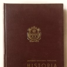 Libros de segunda mano: HISTORIA DE PUENTEDEUME Y SU COMARCA, ANTONIO COUCEIRO FREIJOMIL. Lote 100338874