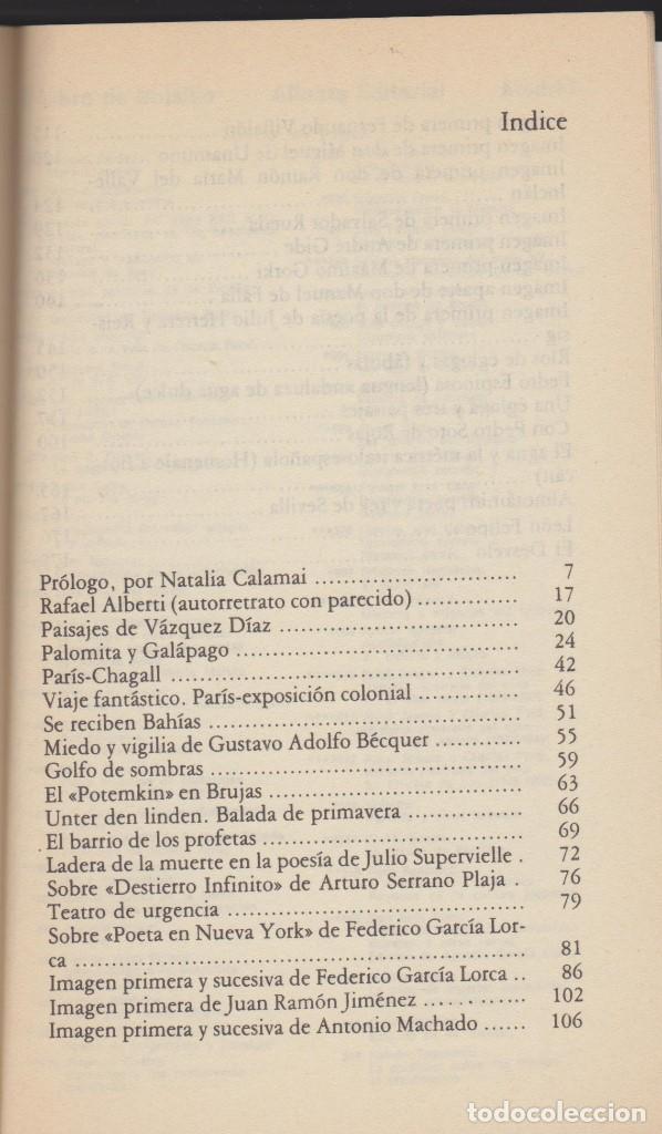 Libros de segunda mano: RAFAEL ALBERTI - PROSAS - NATALIA CALAMAI - ALIANZA 1980 - Foto 3 - 100341331