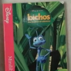 Libros de segunda mano: LIBRO BICHOS DISNEY MINILIBROS. Lote 100345459