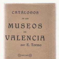 Libros de segunda mano: NUMULITE 2260 CATÁLOGOS DE LOS MUSEOS DE VALENCIA E. TORMO COMO NUEVOS EMBALAJE ORIGINAL. Lote 100365931