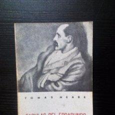 Libros de segunda mano: FÁBULAS DEL ERRABUNDO TOMAS MEABE 1980. Lote 100484103