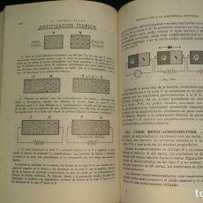 Libros de segunda mano: INTRODUCCIÓN A LA ELECTRÓNICA INDUSTRIAL / F. ARTERO. Lote 100569144