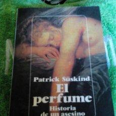 Libros de segunda mano: C7_LIBRO__EL PERFUME_MIDE APROXIM 19X12X2CM__ TIENE 239PAGINAS. Lote 100595243