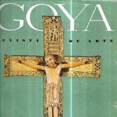 Libros de segunda mano: GOYA. REVISTA DE ARTE. DEDICADO AL ARTE ROMÁNICO. NÚNEROS 43,44,45. MADRID, 1965. Lote 100664875
